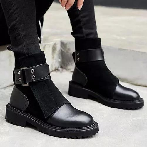 Women's Ankle Boots Low Heel Boots