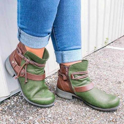 Cowgirl Buckle Boots
