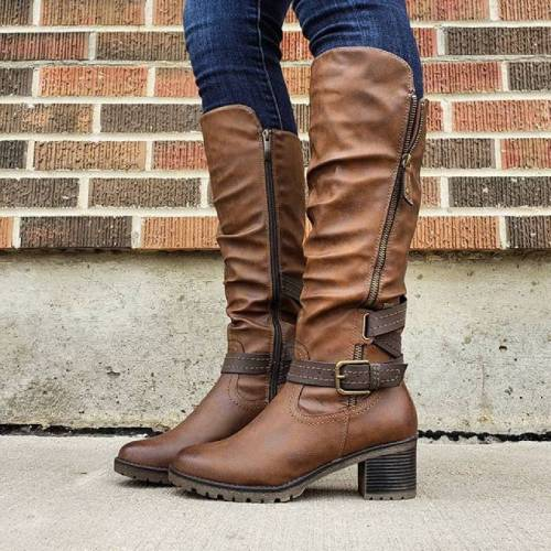 Women's Comfortable Knee High Boots