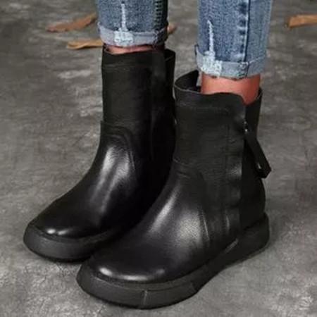 Women's Zipper Ankle Boots