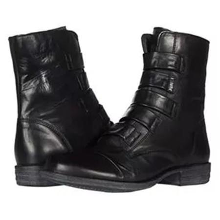 Women's Ankle Boots Closed Toe Low Heel Boots