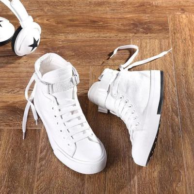 Outdoor Canvas Couple High-Top Sneakers