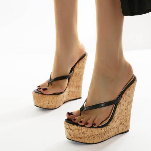 Women's Flip-Flops Wedge Heel Slippers