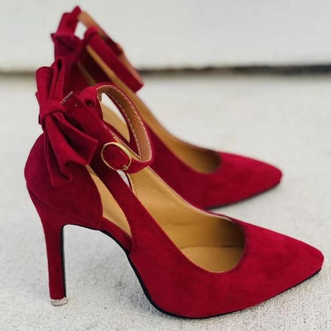 Bow-knot Shallow Pointy High Heels Sandals