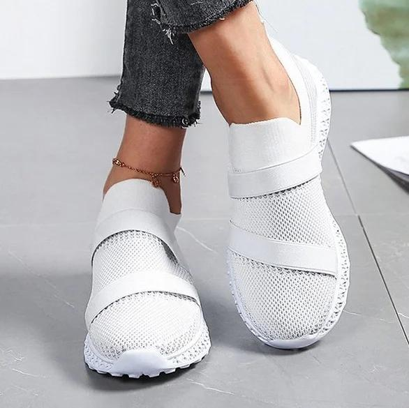 Daily All Season Hollow-Out Low Heel Sneakers