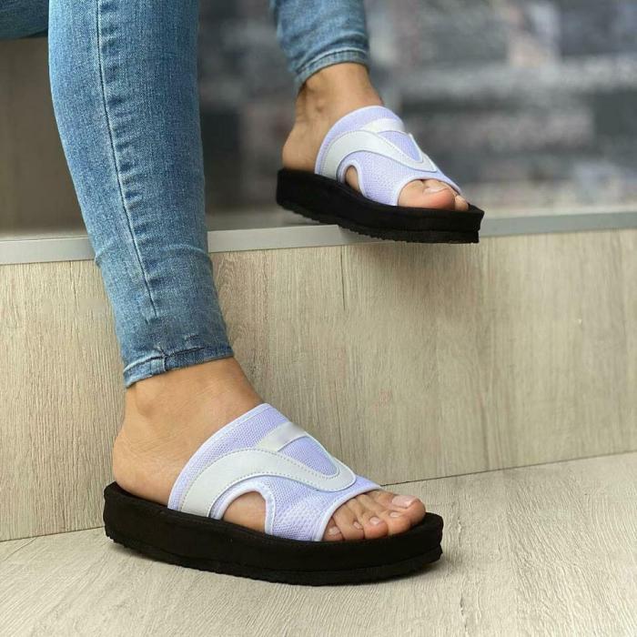 Women's Stylish Flying Knit Slides