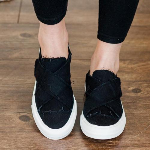 Flat Canvas Sneakers