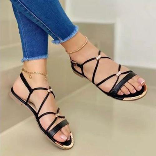 Summer Flat Hell Sandals