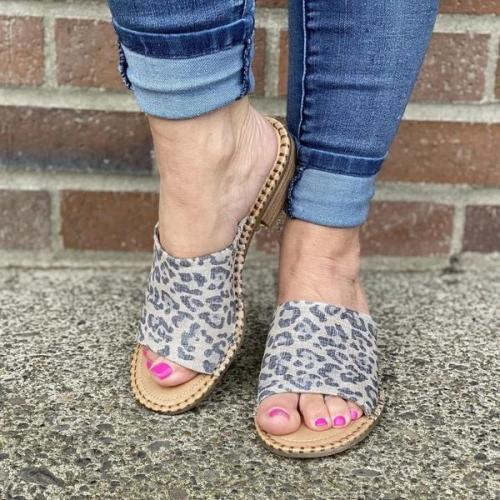 Casual Flat Heel Sandals