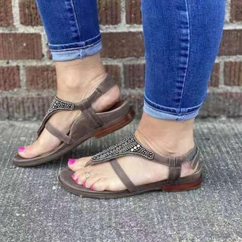 Women Comfy Buckle Sandals