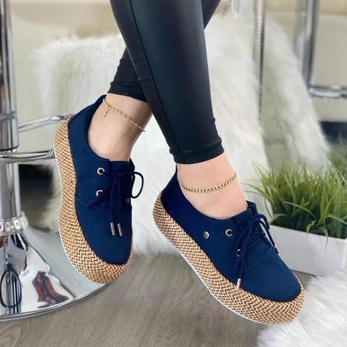 Women's Fashion Platform Casual Shoes