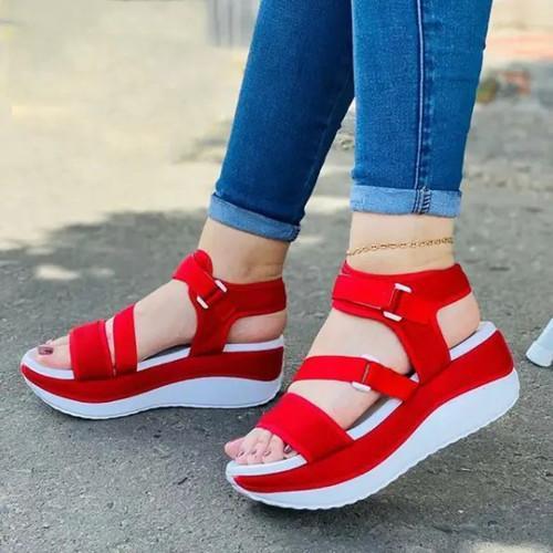 Platform Comfy Sole Sandals