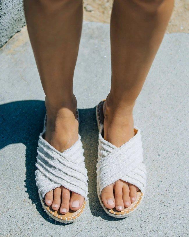 Women Flat Heel Espadrille Sandals