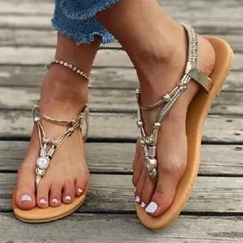 Women's Flip-Flops Low Heel Sandals