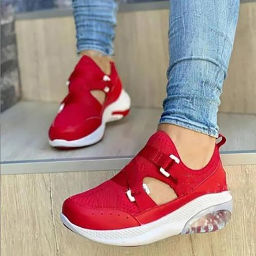 Women's Fashion  Flying Woven Sneakers
