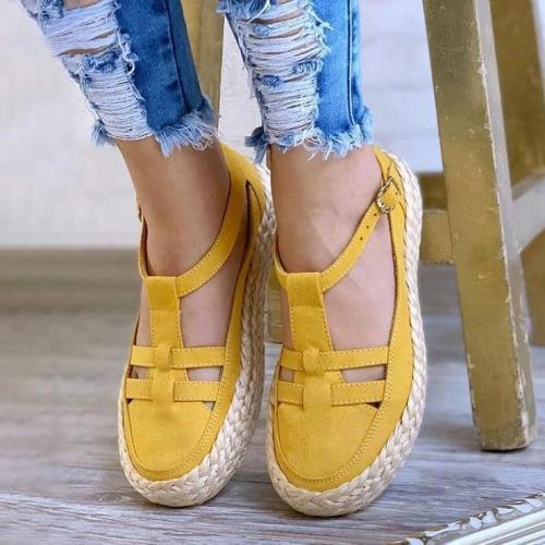 Women's Comfy Woven Espadrille Sandals