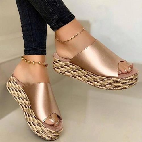 Women's Wedge High Heel Summer Sandals