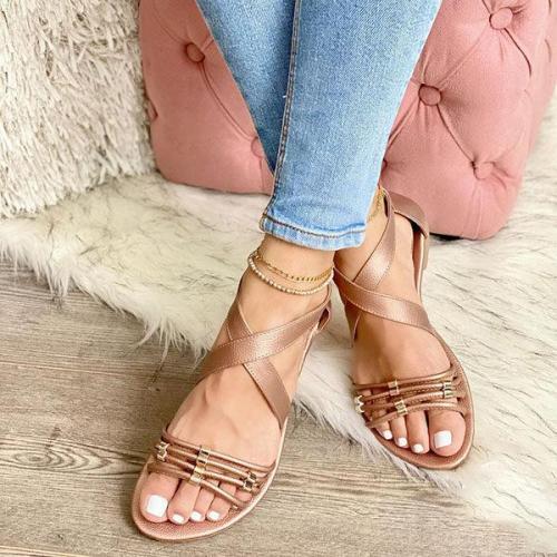 Women's Stylish Hollow Flat Sandals