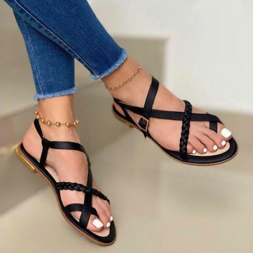 Women's Vintage Flat Flip-flop Sandals