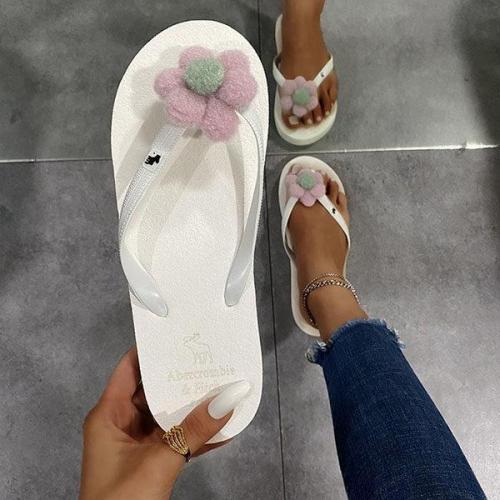 Women's Casual Flower Flip-flops
