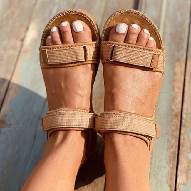 Women's Ankle Strap Velcro Sandals