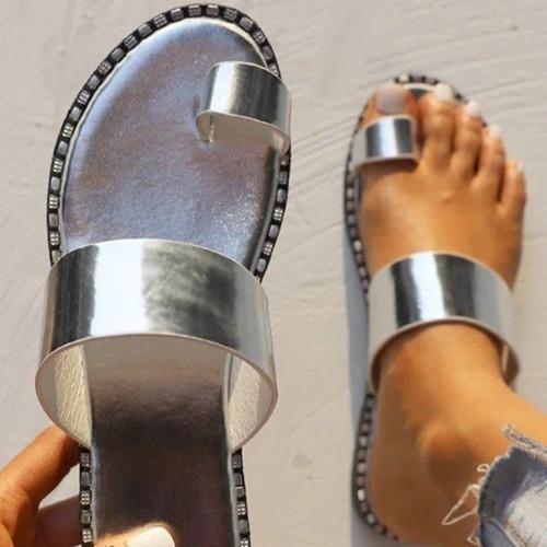 Simple Beach Sandals With Flip Flops
