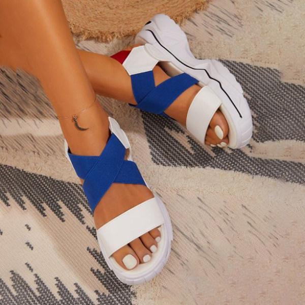 Women's Strappy Sporty Sole Sandals