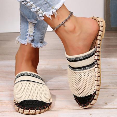 Hollow Flat Sandals