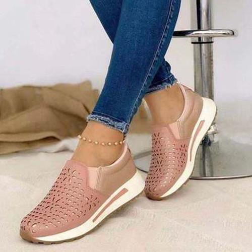 Women Fashion Wedge Sneakers