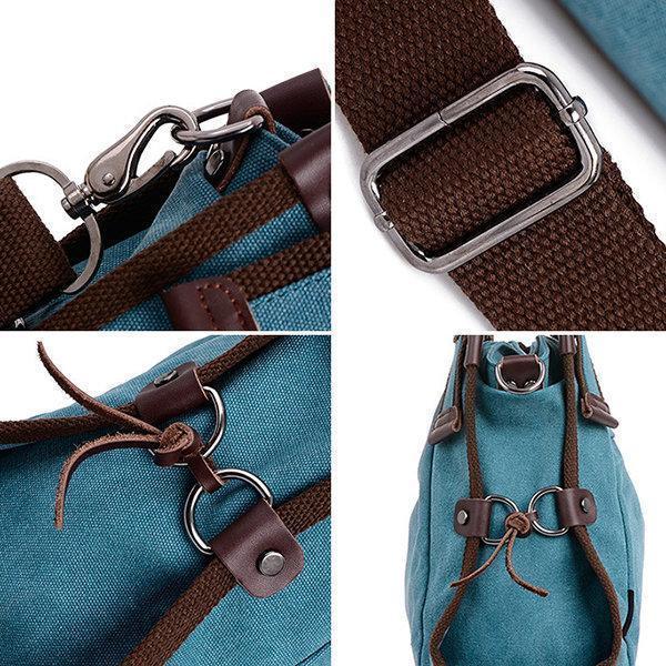 Canvas Casual Shoulder Bag Crossbody Bag Travel Handbag