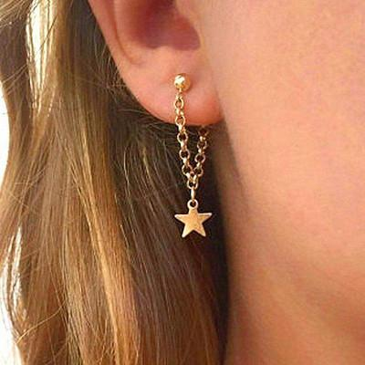 Minimalist Star Earring