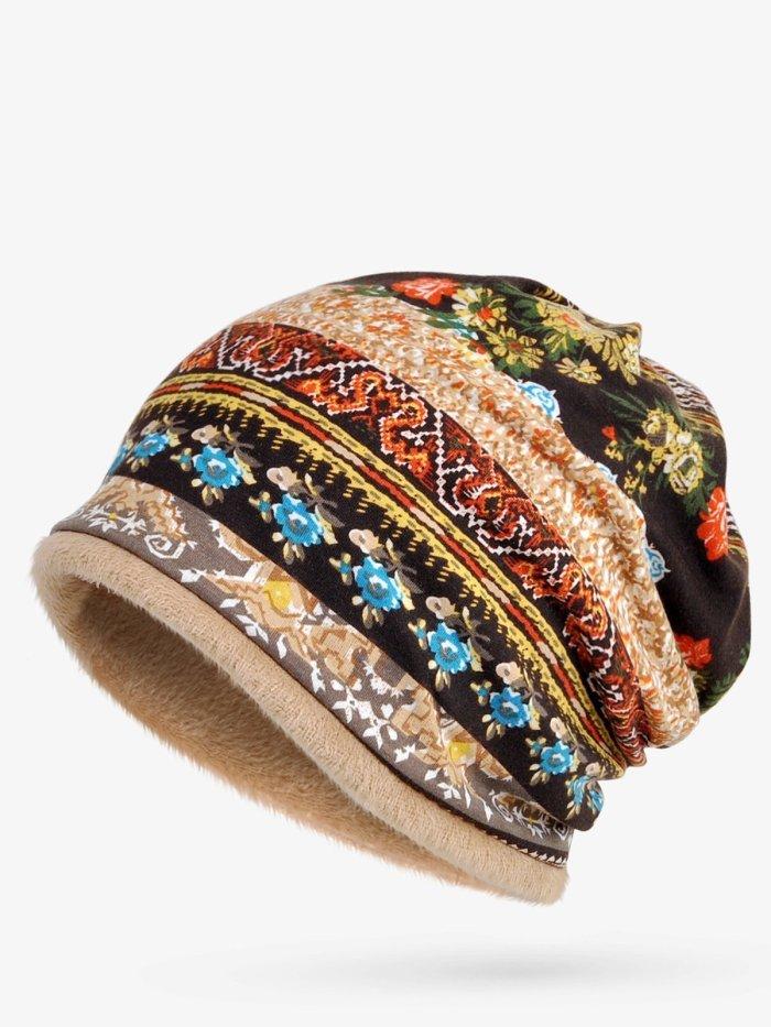 Winter Warm Cotton Tribal Vintage Hats