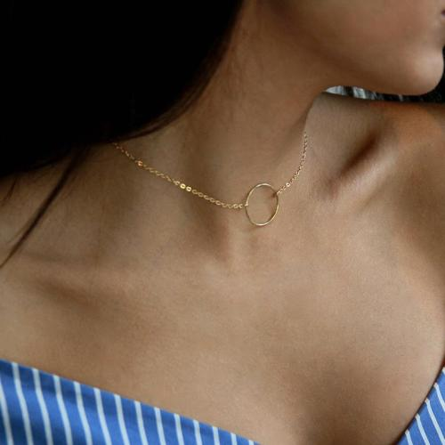 Chic Alloy Choker Necklace