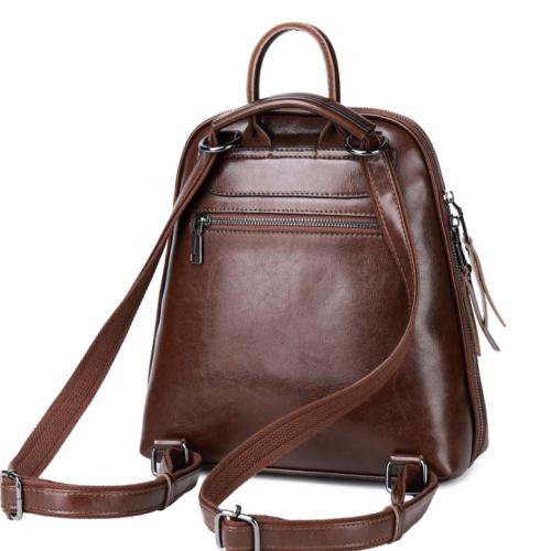 Lokeeda Bag: 2020 New And Personal Woman Leather Backpack