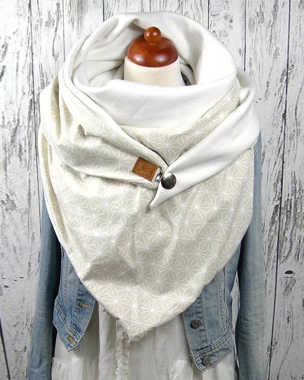 Women Printed Scarf Shawl Multi-purpose Neck Wrap New Scarf