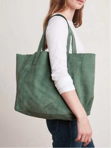 Lightweight Breathable Soft Vintage Large Capacity Handbag Tote