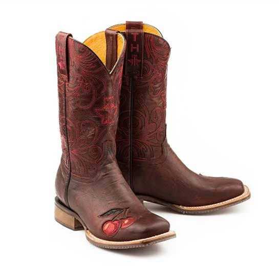 Womens Wide Square Toe Boots