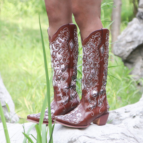Flory Cowgirl Boots
