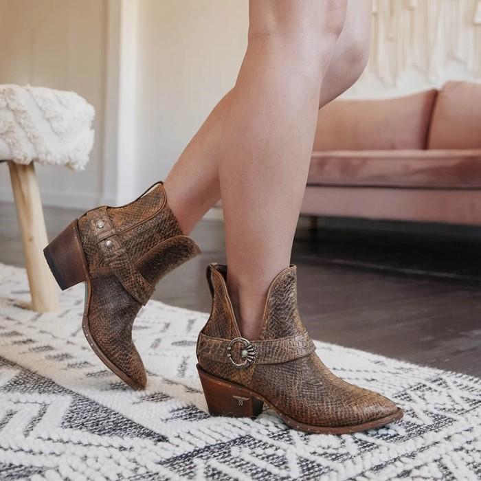 Women Cowgirl Booties