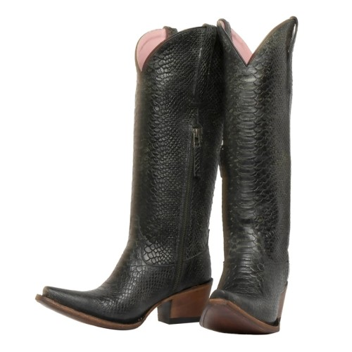 Womens Wide Square Heel Boots