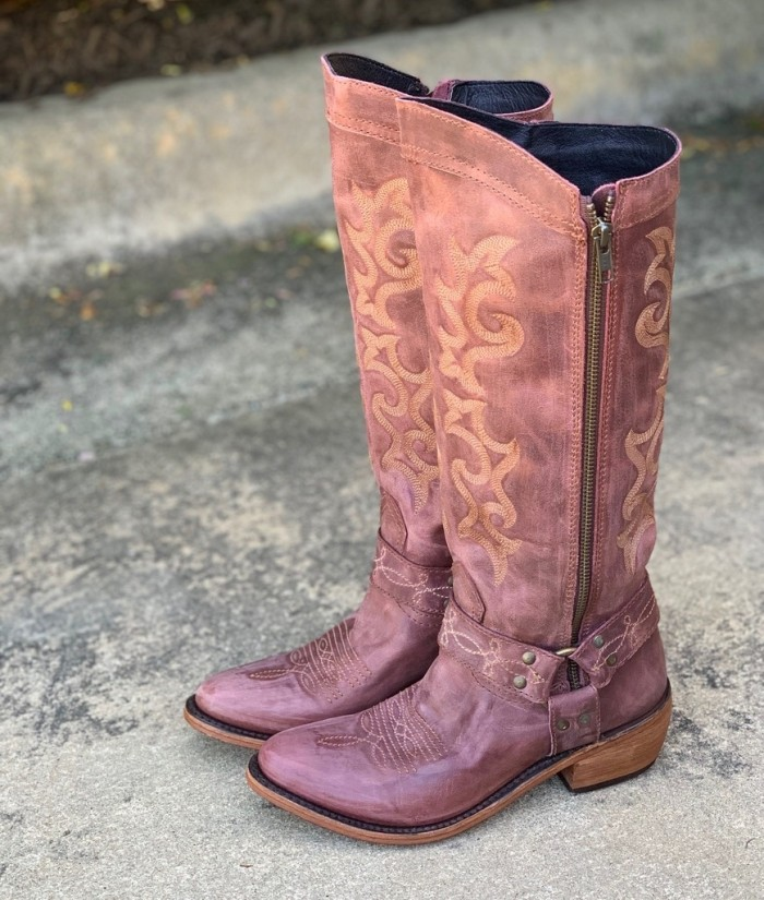 Women Vintage Cowgirl Boots