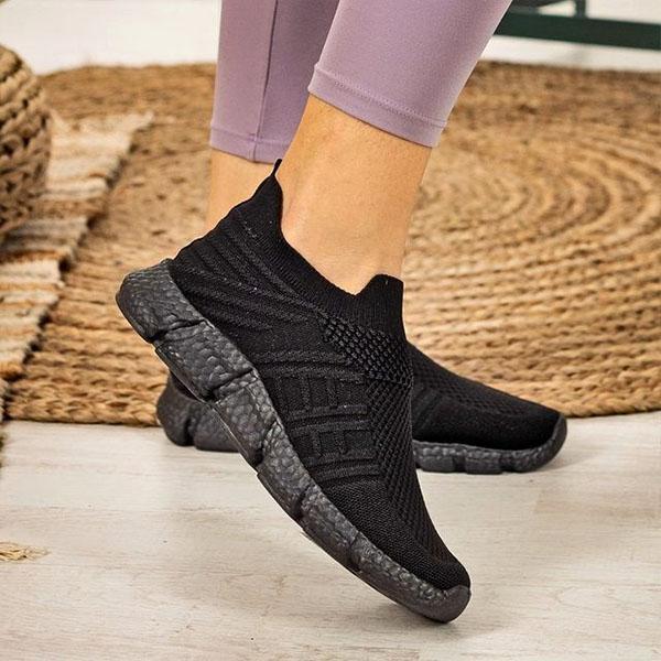Women Coze Vegan Leather Lace Up Flat Shoes