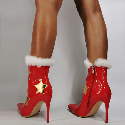 Christmas Iittle Star Booties