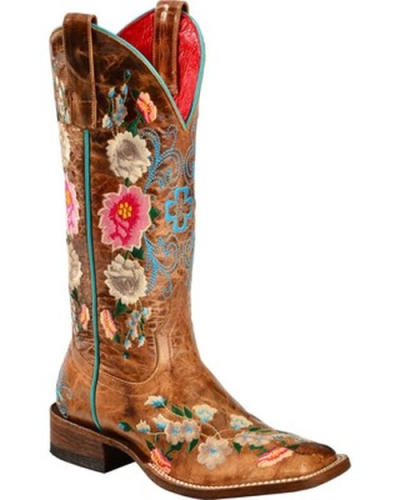 Embroidered Vintage Boots