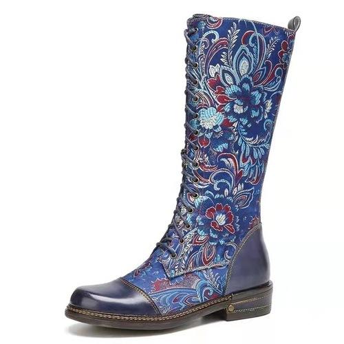 Ethnic Style Retro Hgh Boots