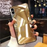 Diamond Texture Mirror Case For iPhone