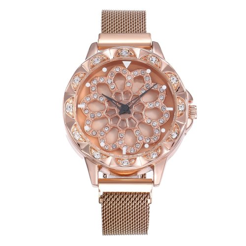 Luxury Rotating Women Watch