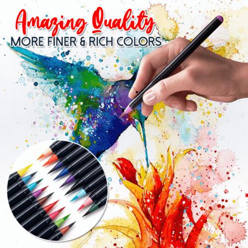 Paintaholic Watercolor Brush Markers Set