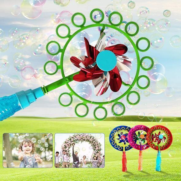 2-in-1 Magic Bubble Stick Windmill