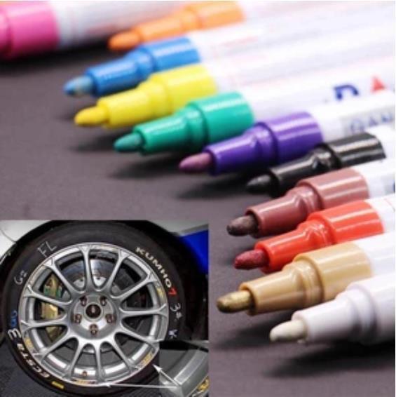 Waterproof, Non-Fading Tire Paint Pen-2PCS